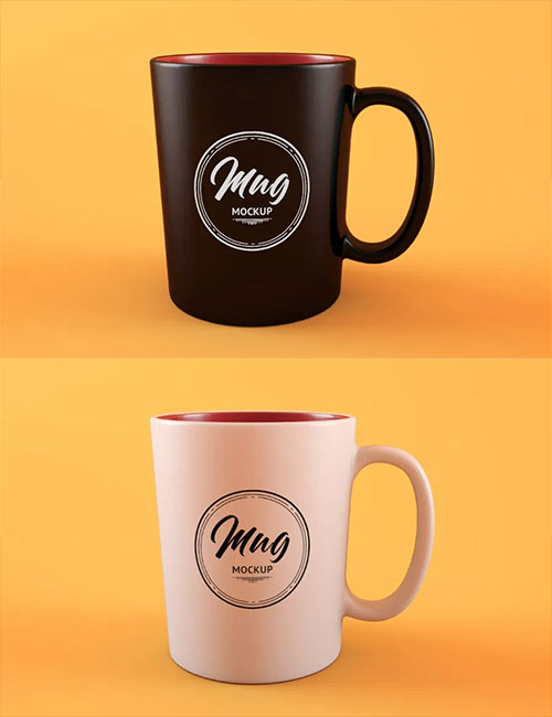 Clean Coffee Cup Mockup