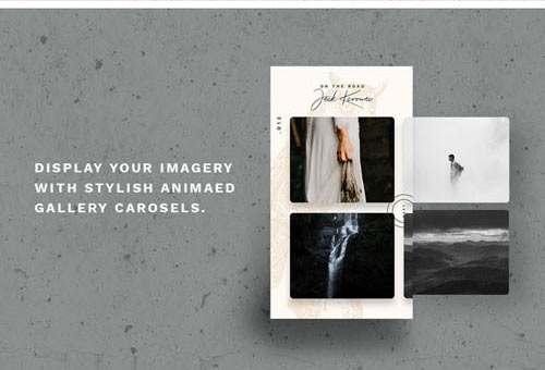 12 Animated Instagram Stories PSD Templates