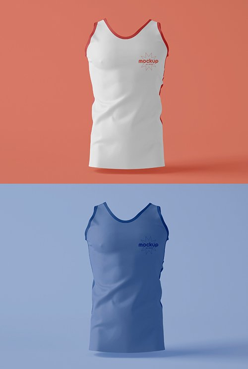 Training Tank Top Mockup 343940263