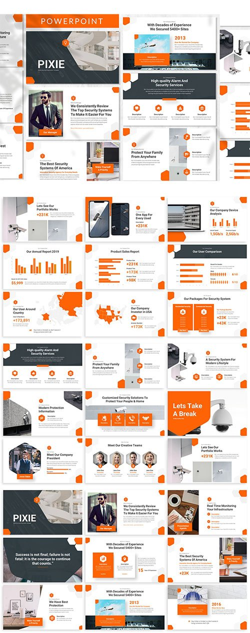 Pixie - Business Powerpoint Template