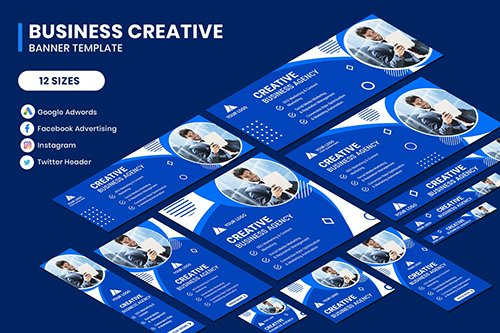 Multipurpose Business Google Adwords Banner