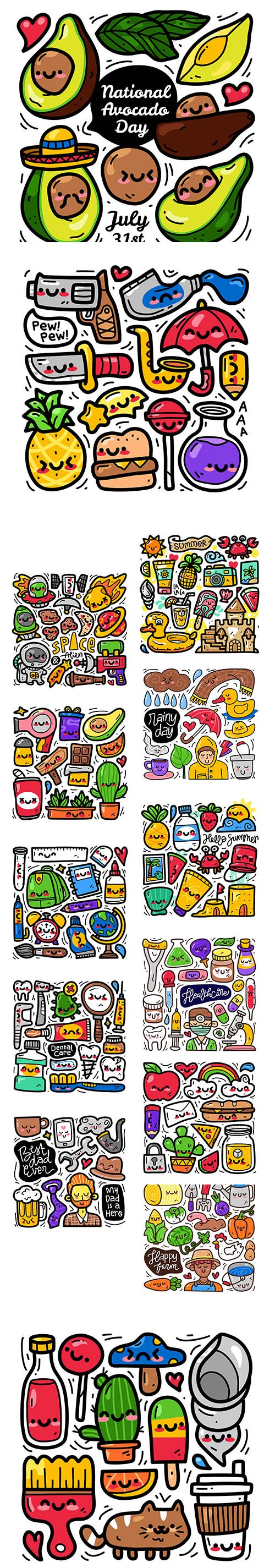 Doodle Collection Set