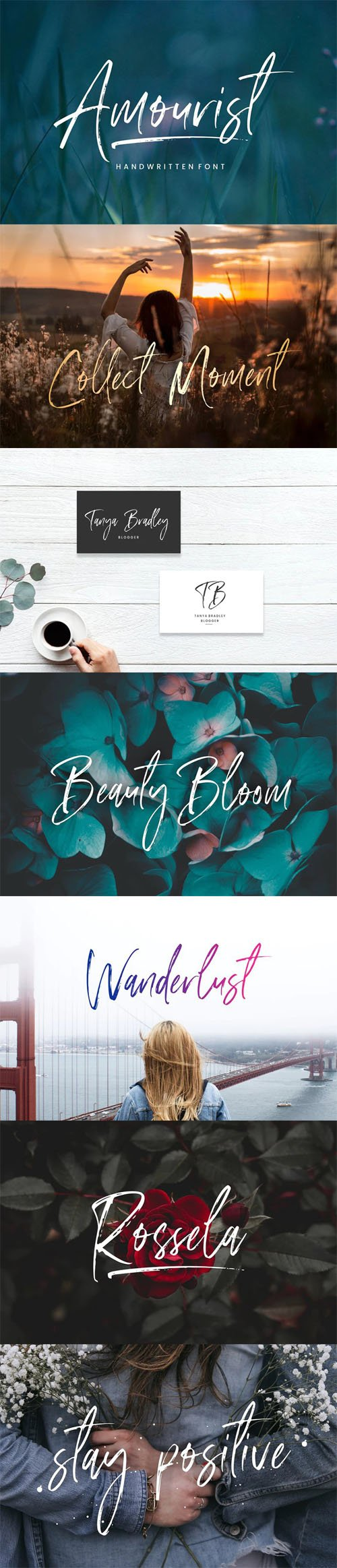 Amourist Handlettering Font