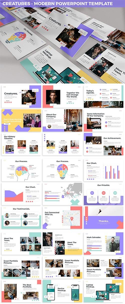 Creature - Modern Powerpoint Template