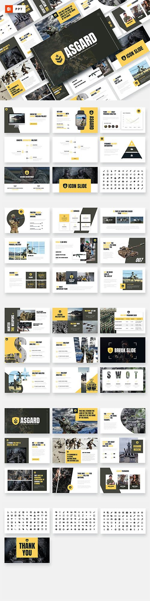 ASGARD - Military & Army Powerpoint Template