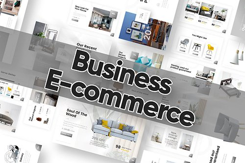 Business E-commerce Powerpoint Template