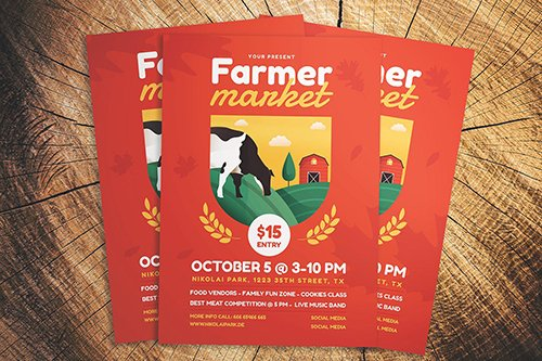 Farmer Market Fest Flyer