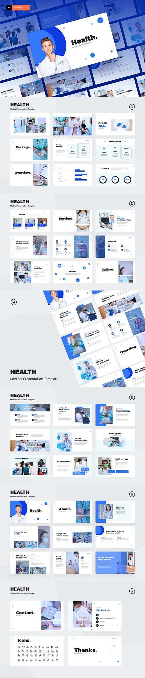 Health - Medical Presentation Template