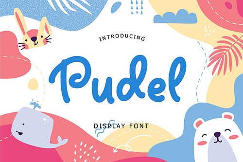 Pudel Display Font