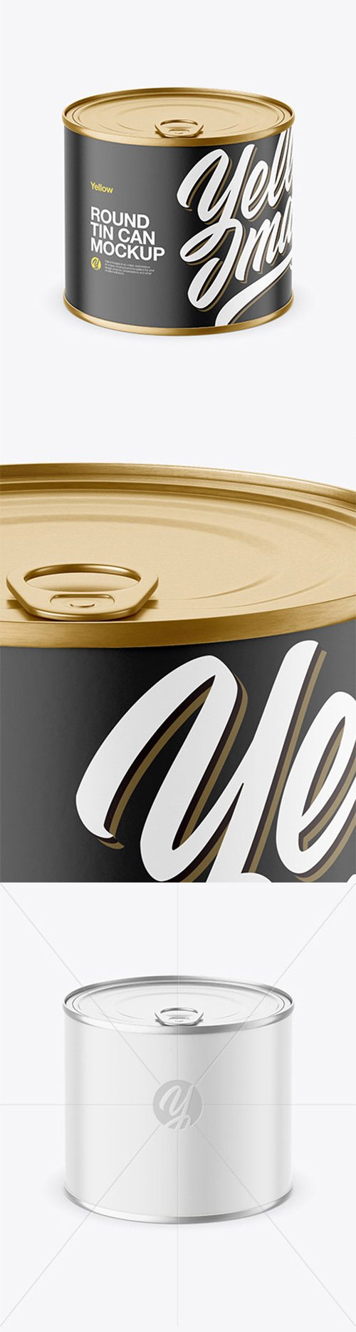 Round Tin Can Mockup 65617