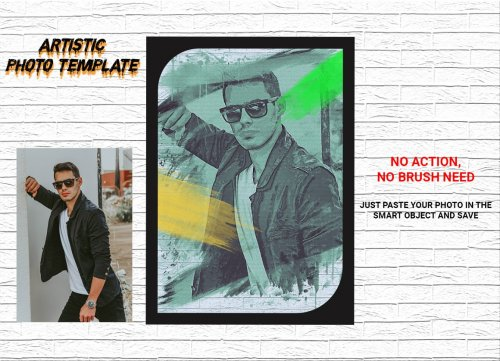 Artistic Photo Template 4553161