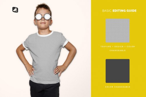 Kid's Everyday Outfit Mockup 4820166