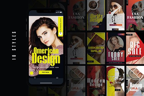 Joky | Instagram Stories Template