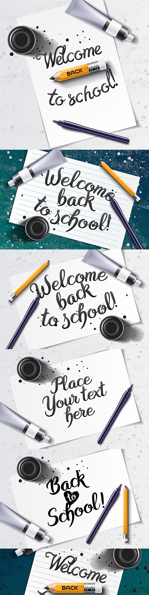 Welcome back to the school of painted lettering with layout