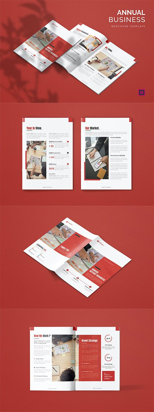 Annual Report Business - Brochure Template