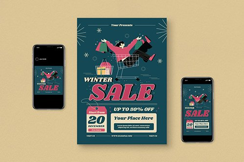 Winter Sale Flyer Pack