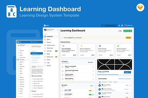 Learning Education Academy Dashboard