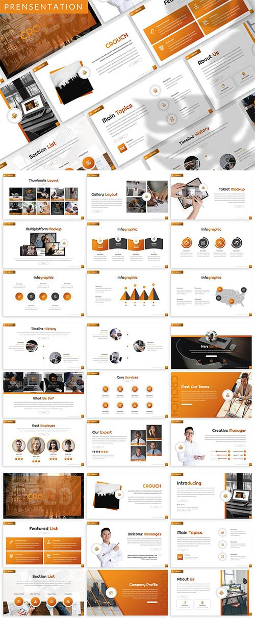 Crouch - Business Prensentation Template