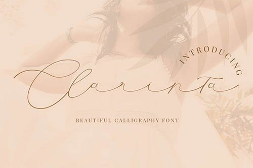Clarinta - Beautiful Calligraphy