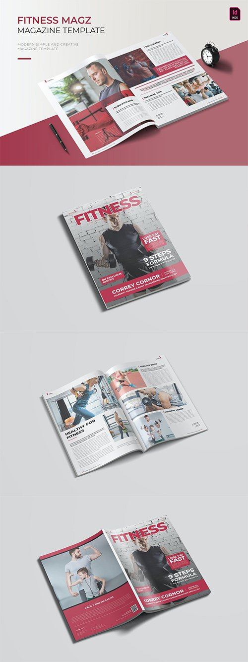 Fitness | Magazine Template