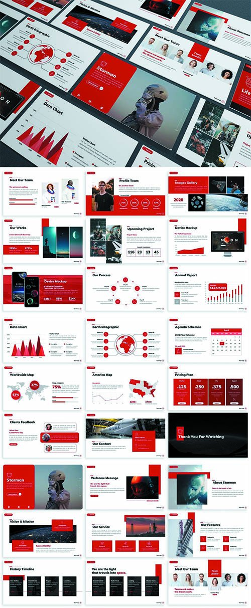 Starman - Technology Powerpoint Template