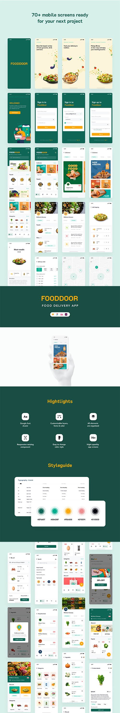 Fooddoor - Food delivery app