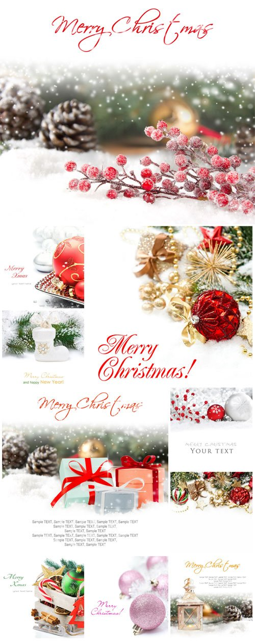New Year and Christmas stock photos №2