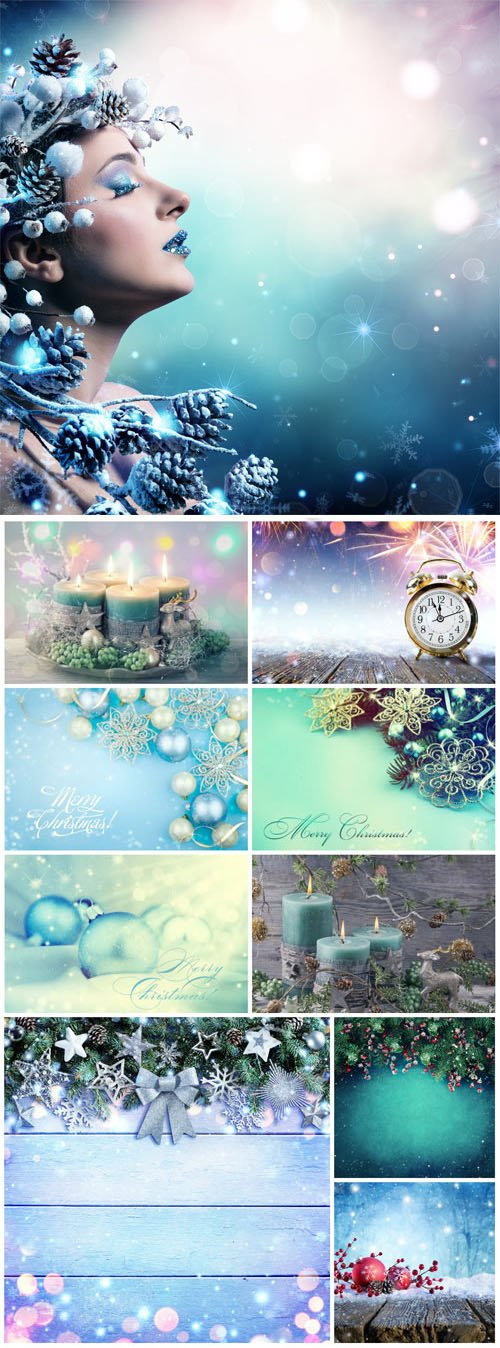 New Year and Christmas stock photos №45