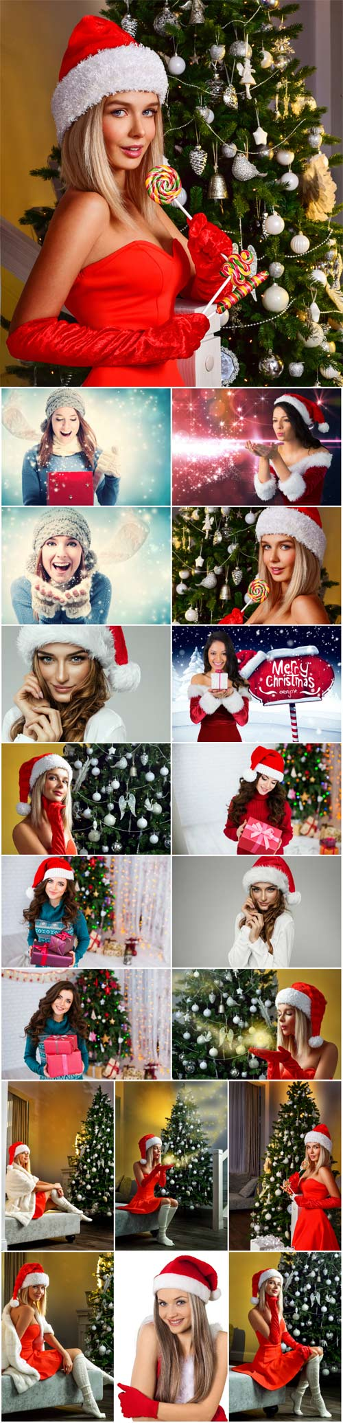 New Year and Christmas stock photos №61