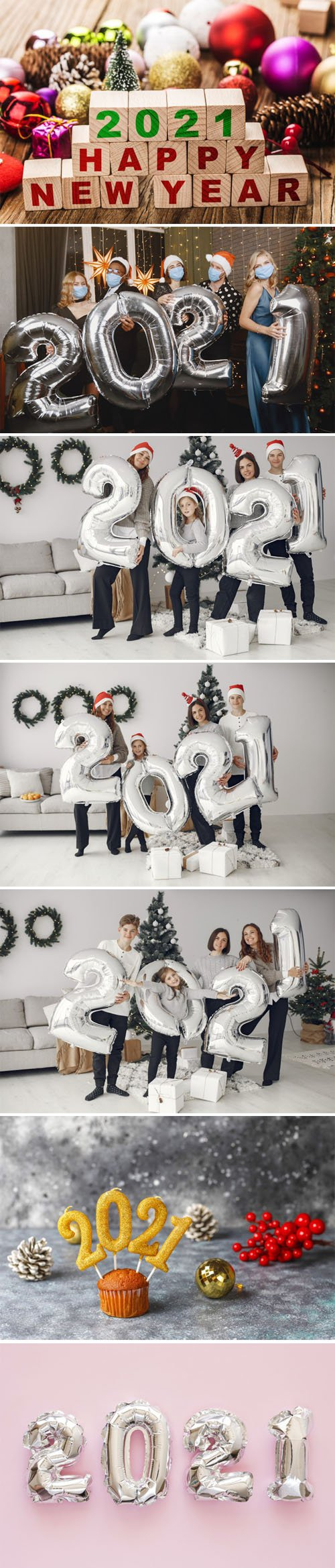 7 Happy New Year 2021 Photos Collection