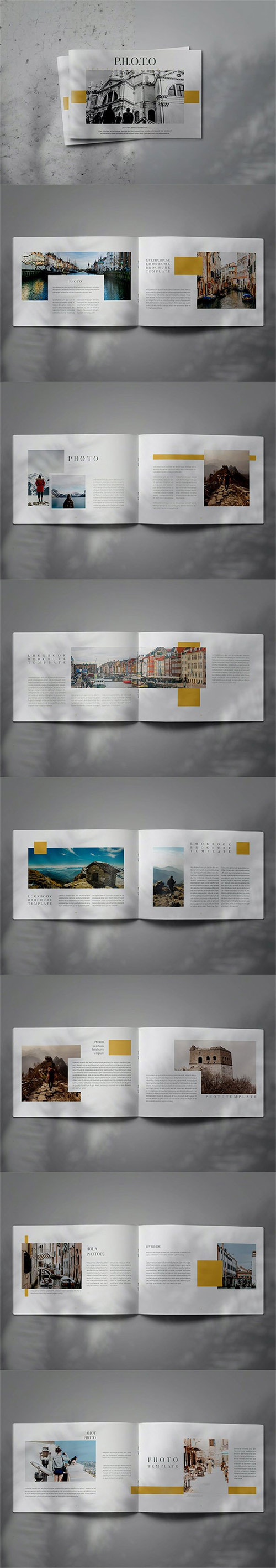 PHOTO - Indesign Brochure Lookbook Template