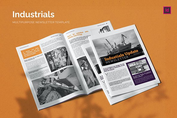 Industrial Update - Newsletter Template