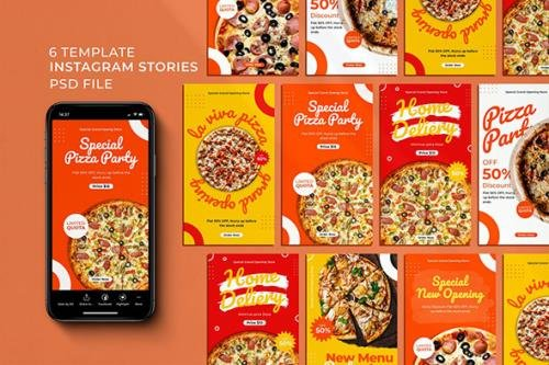Store Food Instagram Stories
