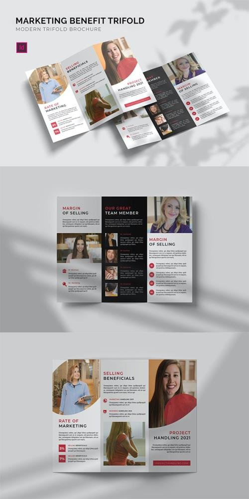 Marketing Benefit - Trifold Brochure