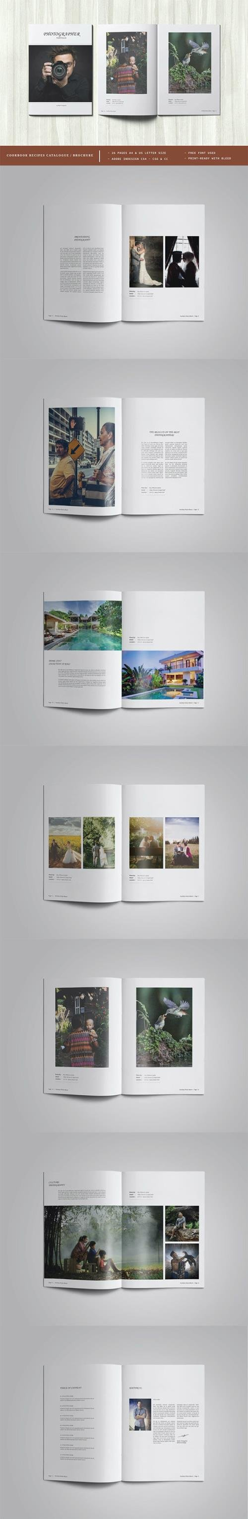 Photography Portfolio or Photo Album Template