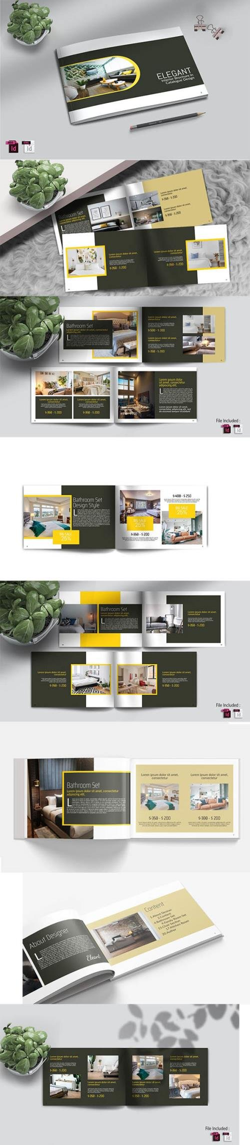 ELEGANT - Interior A4 Catalog Template