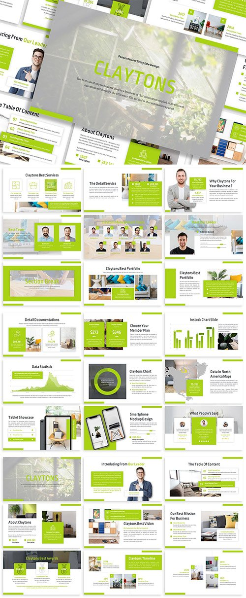 Claytons - Business Template Prensentation