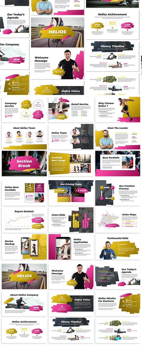 Helios - Business Template Prensentation