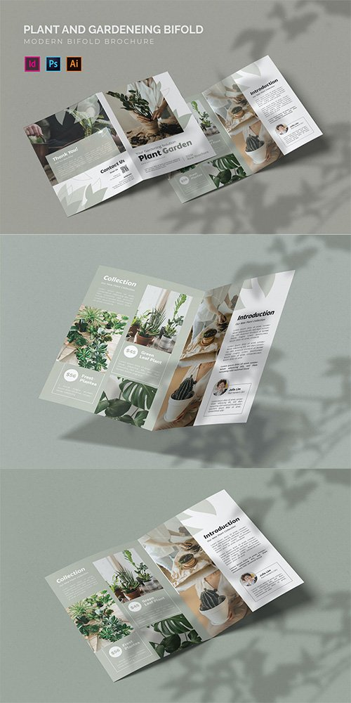 Plant And Gardening - Bifold Brochure