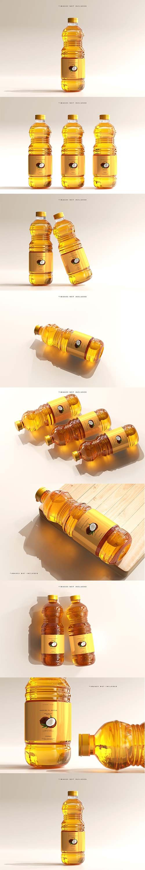 Cooking Oil Bottle Mockup 6005164