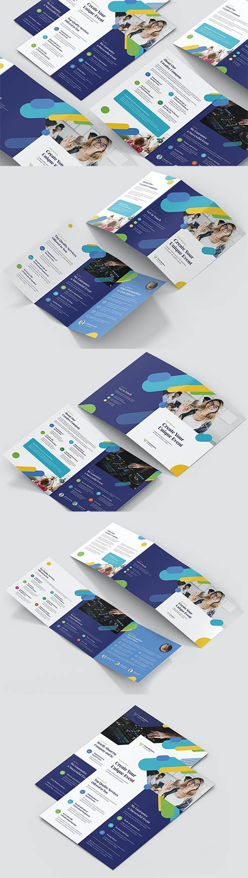 Event Business – Brochures Bundle Print Templates