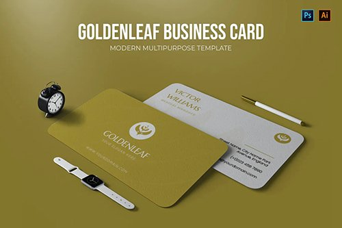 Goldenleaf - Business Card