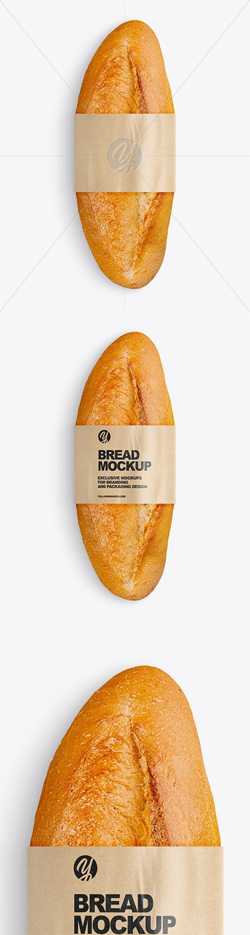 Bread with Label Mockup 76797