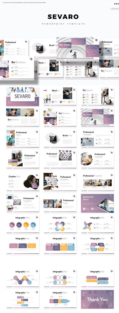 Sevaro - Powerpoint Template