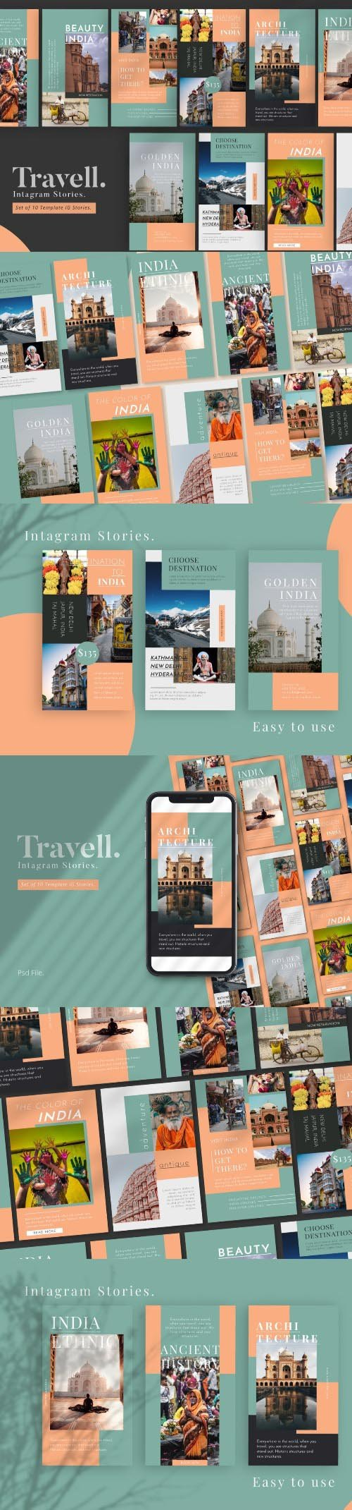 Travel Promotion Instagram Stories Template