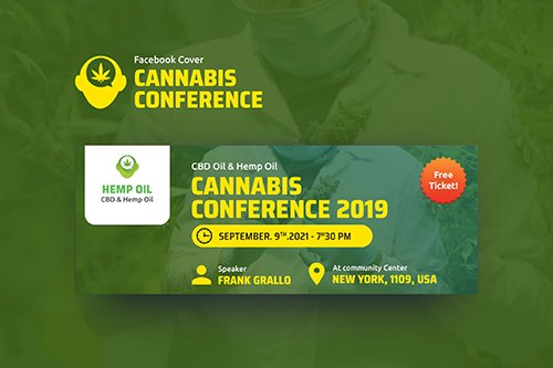 Cannabis Conference Facebook Cover