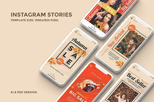 Instagram Stories Template 2