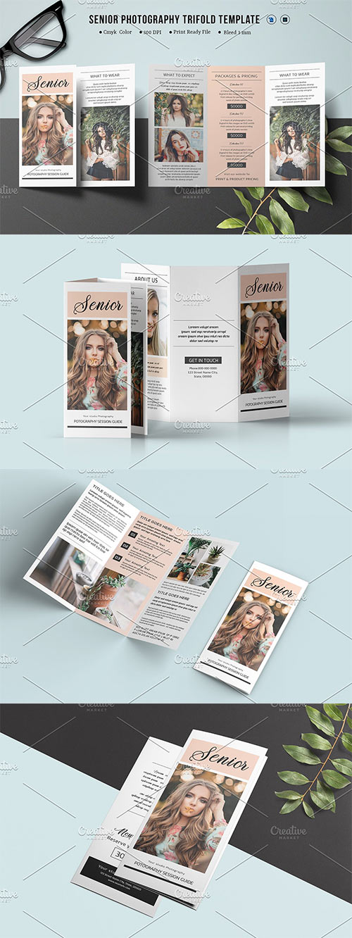 Trifold Photography Brochure - V874