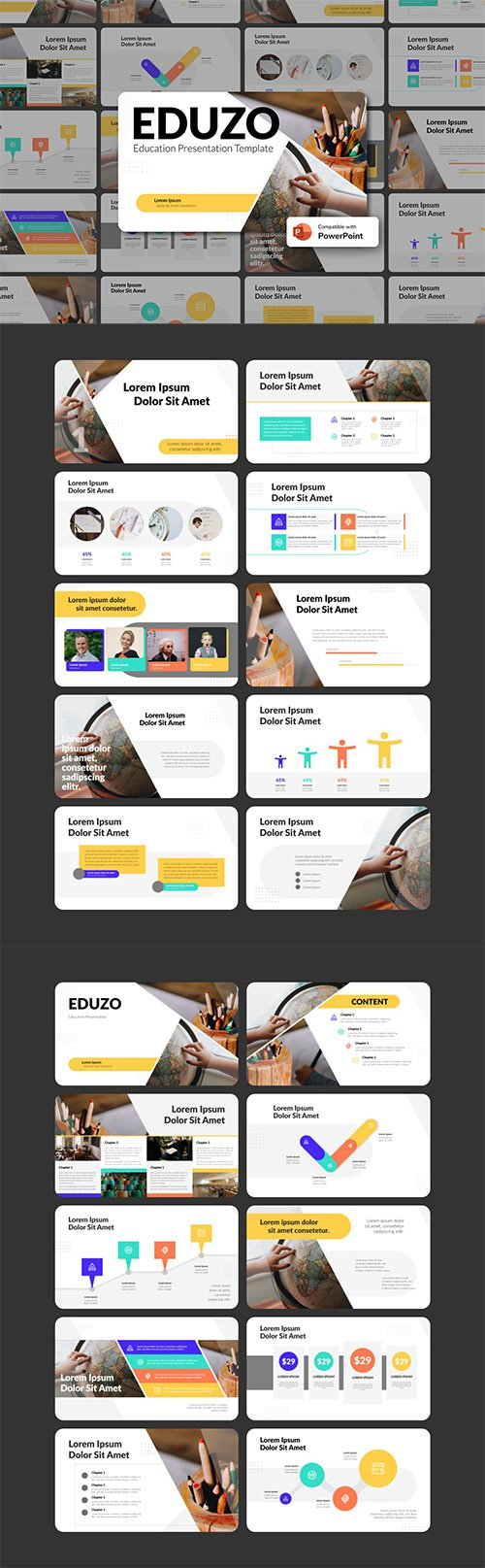 EDUZO - Education PowerPoint Template