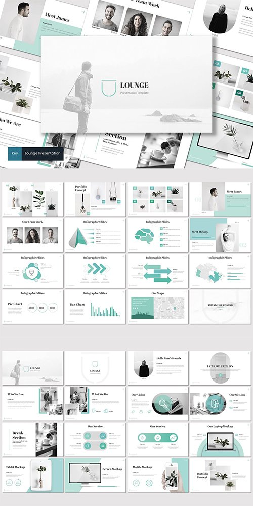 Lounge - Powerpoint, Keynote and Google Slides Templates